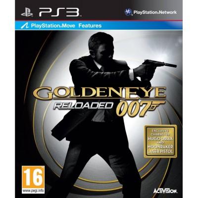 007 Reloaded Golden Eye [PS3, английская версия]