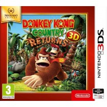 Donkey Kong Country Returns 3D [3DS]
