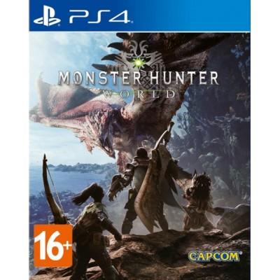 Monster Hunter World [PS4, русские субтитры]