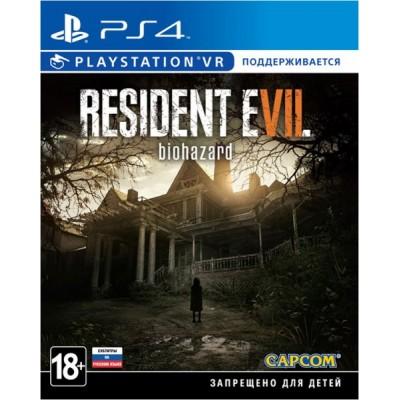 Resident Evil 7 Biohazard (с поддержкой VR) [PS4, русские субтитры]