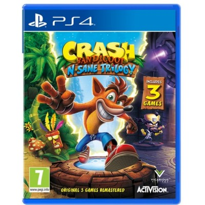 Crash Bandicoot N-Sane Trilogy [PS4, английская версия]