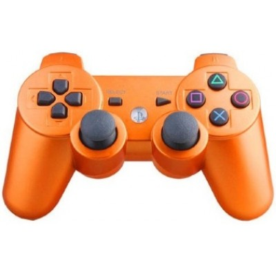 Джойстик Dualshock 3 беспроводной [PS3, оранжевый]