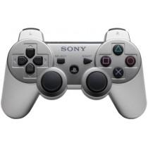 Dualshock 3 серебряный джойстик беспроводной для PS3