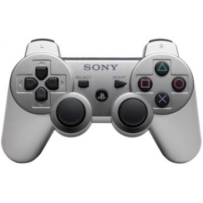 Джойстик Dualshock 3 беспроводной [PS3, серебряный]