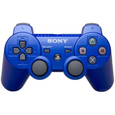Джойстик Dualshock 3 беспроводной [PS3, синий]