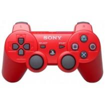 Dualshock 3 красный джойстик беспроводной для PS3
