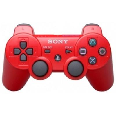 Джойстик Dualshock 3 беспроводной [PS3, красный]