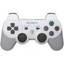 Dualshock 3 белый джойстик беспроводной для PS3