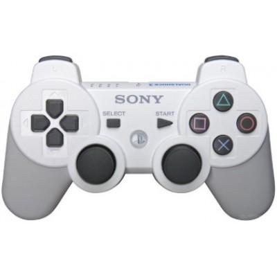 Джойстик Dualshock 3 беспроводной [PS3, белый]
