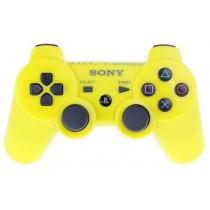 Dualshock 3 желтый джойстик беспроводной для PS3