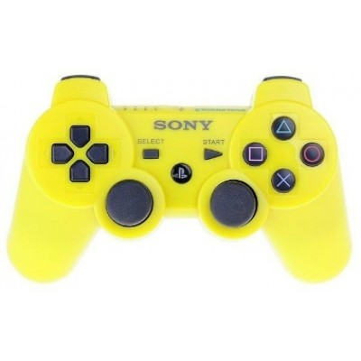 Джойстик Dualshock 3 беспроводной [PS3, желтый]