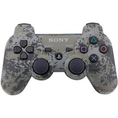 Джойстик Dualshock 3 беспроводной [PS3, камуфляж хаки]