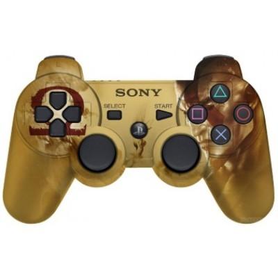 Джойстик Dualshock 3 беспроводной [PS3, God of War Edition]