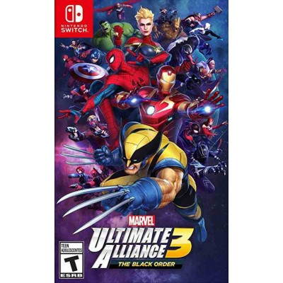 Marvel Ultimate Alliance 3 The Black Order [NSW, английская версия]