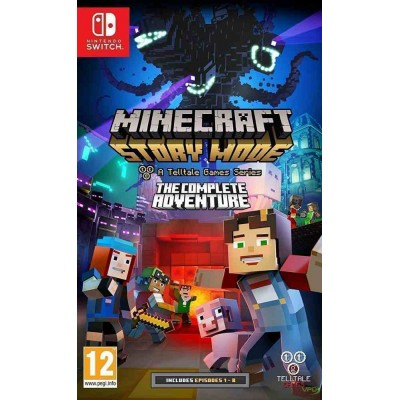 Minecraft Story Mode - The Complete Adventure (Episodes 1-8) [NSW, русская версия]