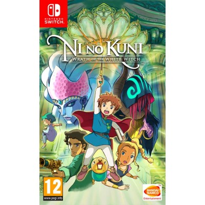 Ni no Kuni Wrath of the White Witch [NSW, английская версия]