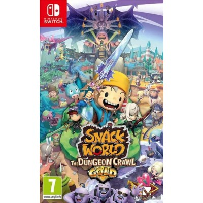 Snack World The Dungeon Crawl - Gold [NSW, английская версия]