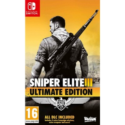 Sniper Elite III - Ultimate Edition [NSW, русская версия]