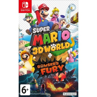 Super Mario 3D World + Bowsers Fury [NSW, русские субтитры]