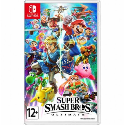 Super Smash Bros Ultimate [NSW, русская версия]
