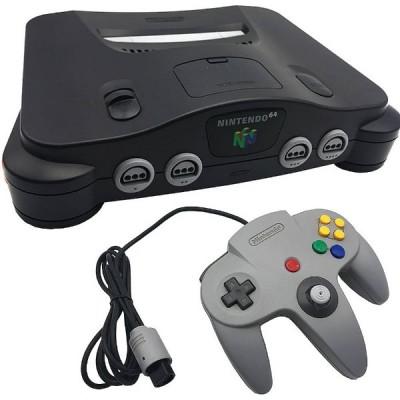 Nintendo 64 [Black, Pal]