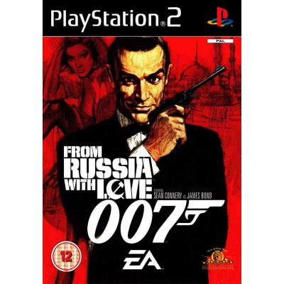 007 From Russia With Love [PS2, русская версия]