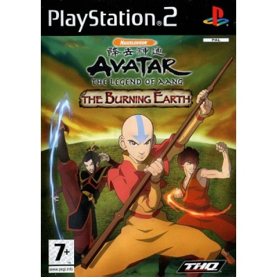 Avatar the Legend of Aang - The Burning Earth [PS2, английская версия]