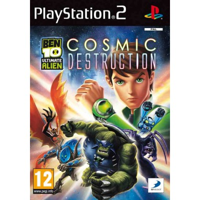 Ben 10 Ultimate Alien Cosmic Destruction [PS2, английская версия]