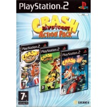 Crash Bandicoot Action Pack [PS2]