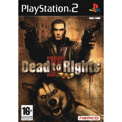 Dead to Rights 2 [PS2, английская версия]