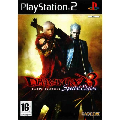 Devil May Cry 3 - Special Edition [PS2, английская версия]