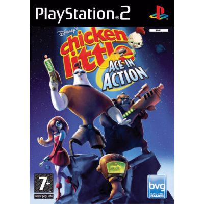 Disneys Chicken Little Ace in Action [PS2, английская версия]