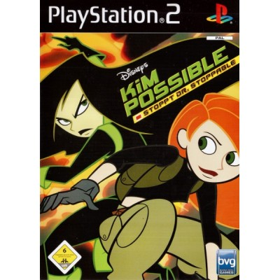 Disneys Kim Possible - Stoppt Dr. Stoppable (What's The Switch?) [PS2, английская версия]
