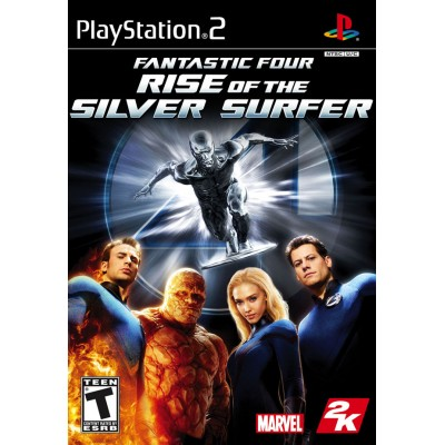 Fantastic Four - Rise of the Silver Surfer [PS2, английская версия]