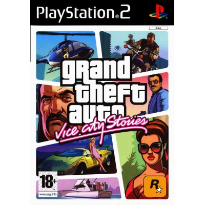 Grand Theft Auto (GTA) Vice City Stories  [PS2, английская версия]