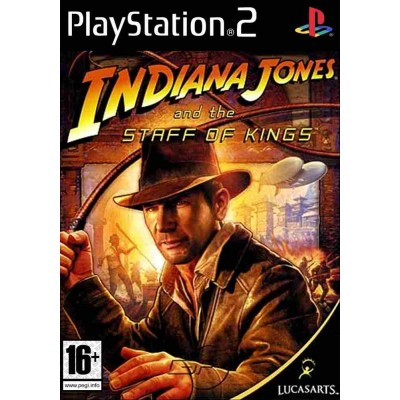 Indiana Jones and the Staff of Kings [PS2, английская версия]