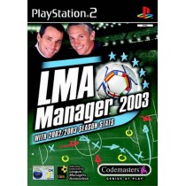 LMA Manager 2003 [PS2]