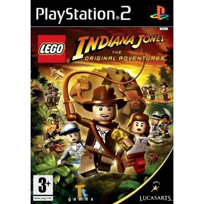 LEGO Indiana Jones The Original Adventures [PS2, английская версия]