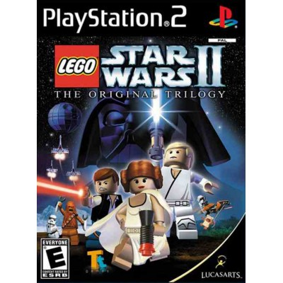 LEGO Star Wars 2 - The Original Trilogy [PS2, английская версия]