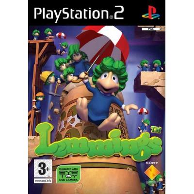 Lemmings [PS2, английская версия]