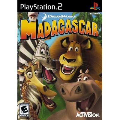 Madagascar [PS2, английская версия]