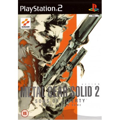 Metal Gear Solid 2 Sons of Liberty [PS2, английская версия]