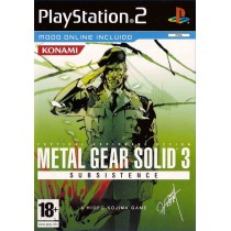 Metal Gear Solid 3 - Subsistence [PS2]