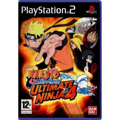 Naruto Shippuden Ultimate Ninja 4 [PS2, английская версия]