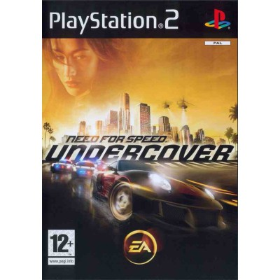 Need for Speed Undercover [PS2, русская версия]