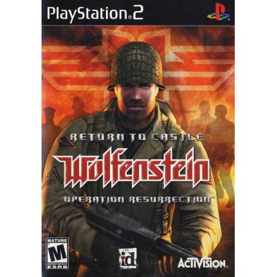 Return to Castle Wolfenstein - Operation Resurrection [PS2, английская версия]