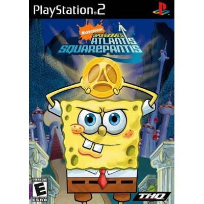 Spongebobs Atlantis Squarepantis [PS2, английская версия]