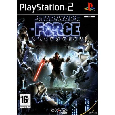 Star Wars - The Force Unleashed [PS2, английская версия]