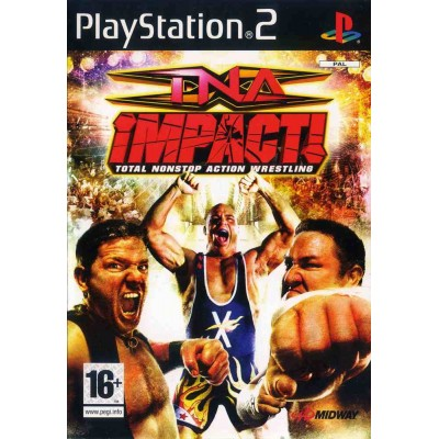 TNA IMPACT - Total Nonstop Action Wrestling [PS2, английская версия]