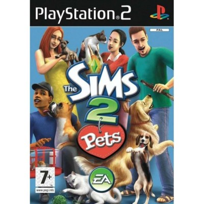 The Sims 2 Pets [PS2, английская версия]